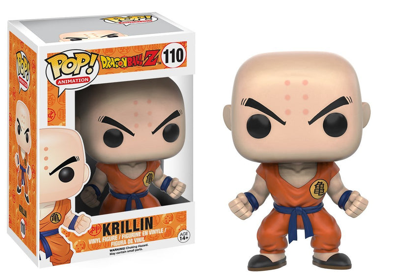 Funko POP Anime: Dragonball Z - Krillin Action Figure - Kryptonite Character Store