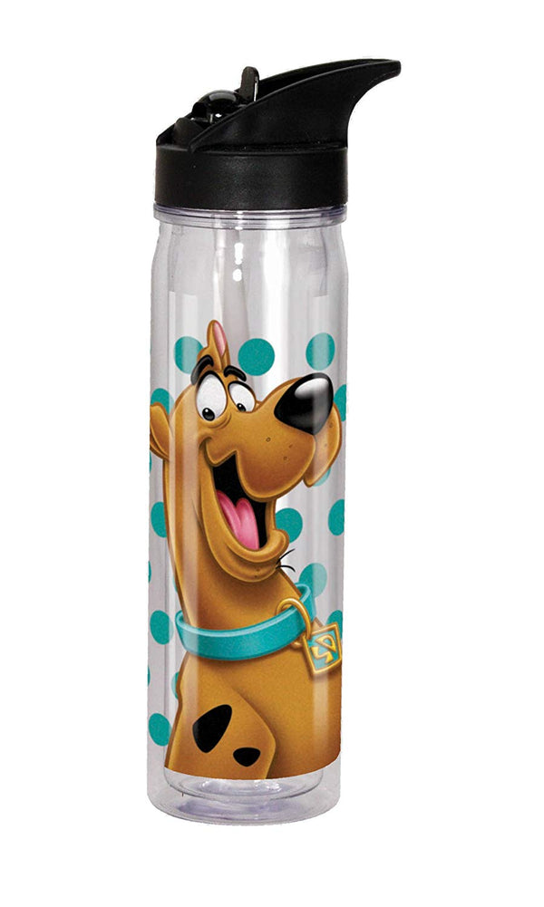 Spoontiques Scooby Doo Flip Top Bottle, Clear