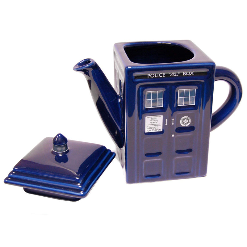 Doctor Who Tardis Ceramic Teapot - Kryptonite Character Store