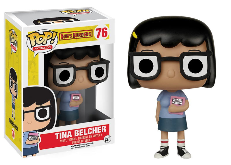 Funko POP Animation Bob's Burgers Tina Action Figure - Kryptonite Character Store