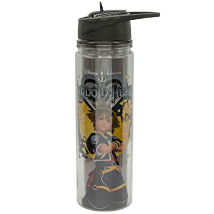 Dİsney Kingdom Hearts - Tritan Water Bottle - Kryptonite Character Store