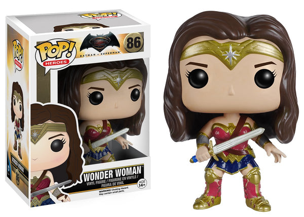 DC: Batman vs Superman - Wonder Woman POP Movies Vinyl Figure