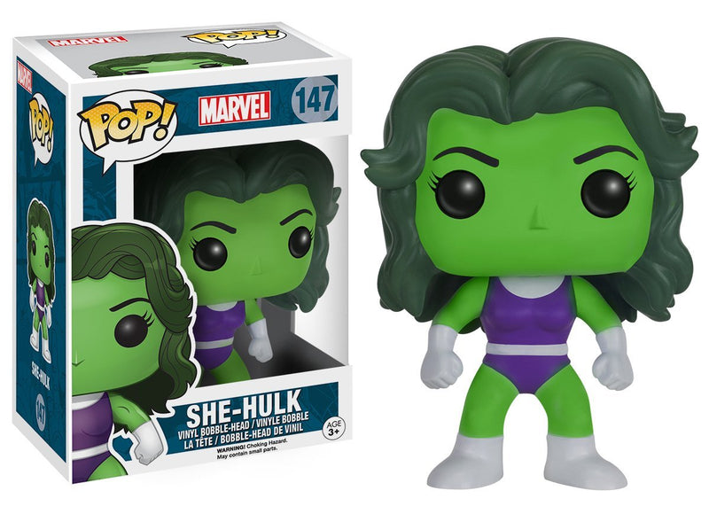 Funko POP Marvel: She-Hulk Vinyl Figure - Kryptonite Character Store