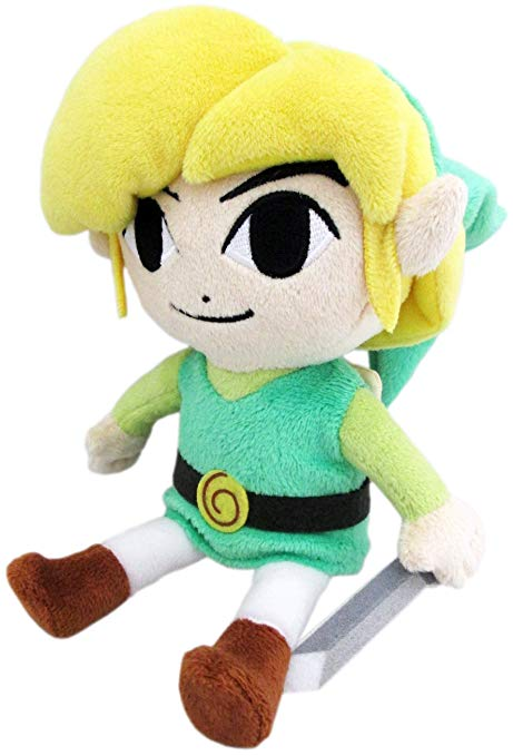 "Banpresto - The Legend of Zelda: The Windwaker 12"" Plush Doll - Kryptonite Character Store"
