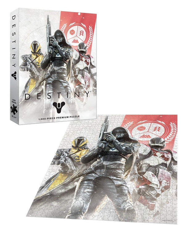 Destiny Guardian Fireteam 1000 Piece Premium Puzzle - Kryptonite Character Store