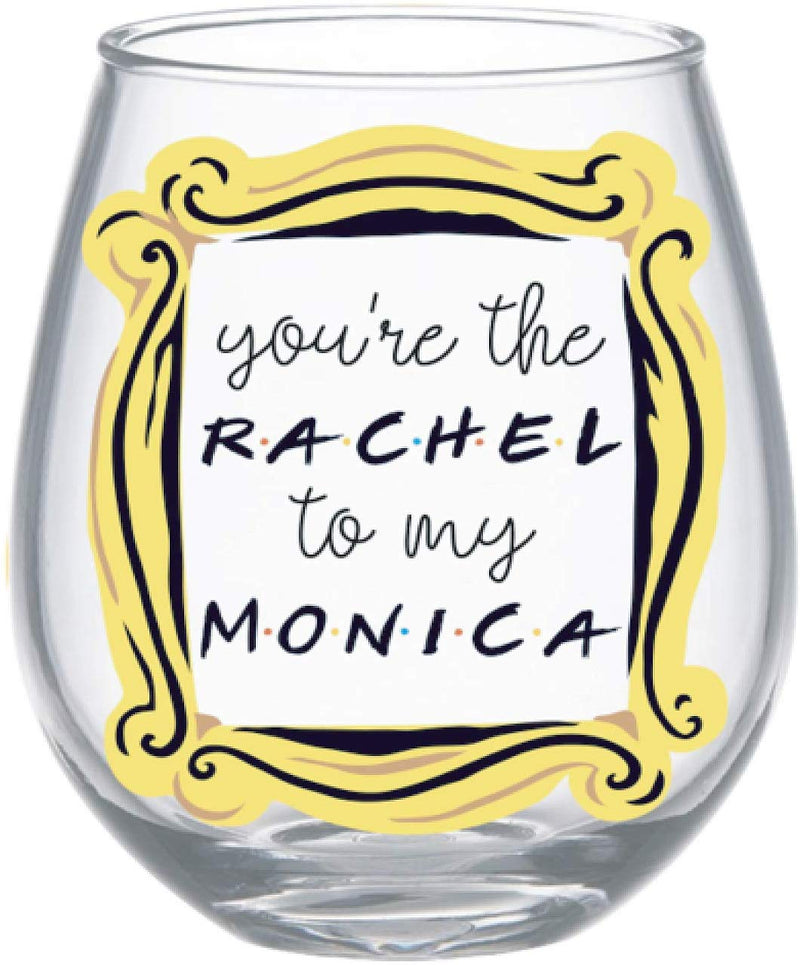 Friends You're the Rachel Stemless Drinking Glass, 20-Ounce, Clear