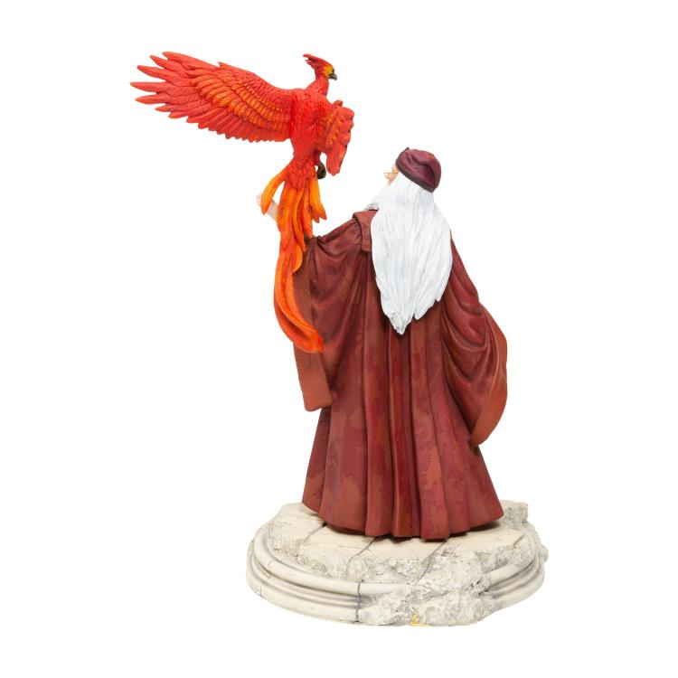 Harry Potter Professor Dumbledore with Fawkes Figurine