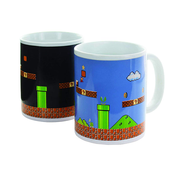 Super Mario Brothers Heat Changing Mug - Kryptonite Character Store