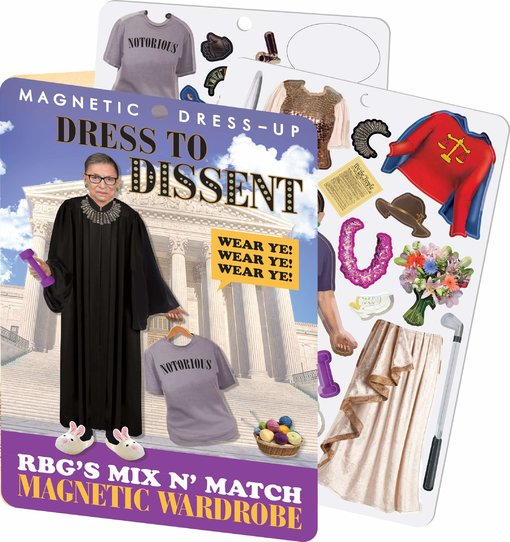 Ruth Bader Ginsburg - Dress to Dissent - Magnetic Dress Up Play Set