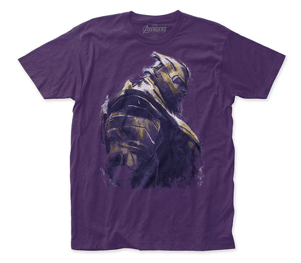 Avengers: End Game Thanos Fitted Jersey tee- Kryptonite Character Store