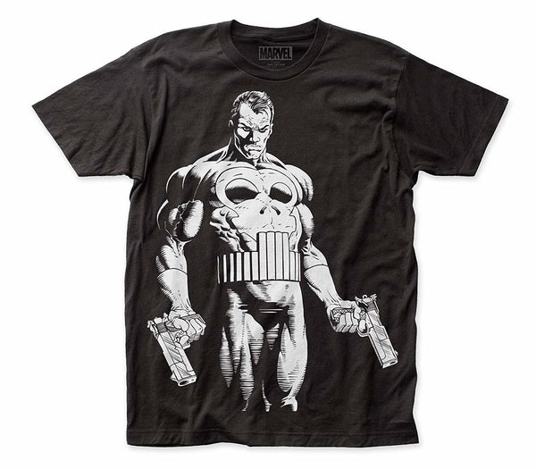 Impact Merchandising Punisher The Big Nothing Big Print Subway Tee