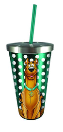 Scooby Doo Stainless Steel Cup Straw, Multicolor