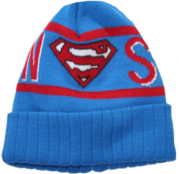 DC Comics: Superman Text Cuff Beanie - Kryptonite Character Store