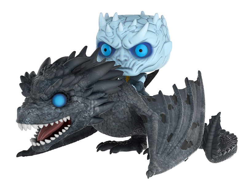 Funko Pop Rides: Game of Thrones-Night King on Dragon Collectible Figure - Kryptonite Character Store
