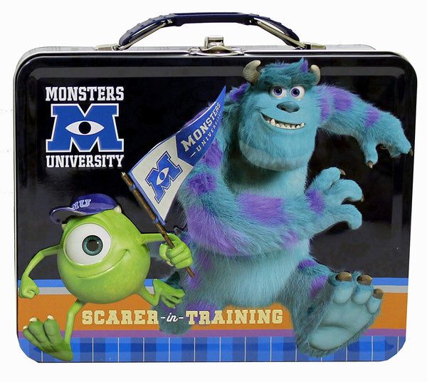 Disney Monsters University Metal Lunch Box - Kryptonite Character Store
