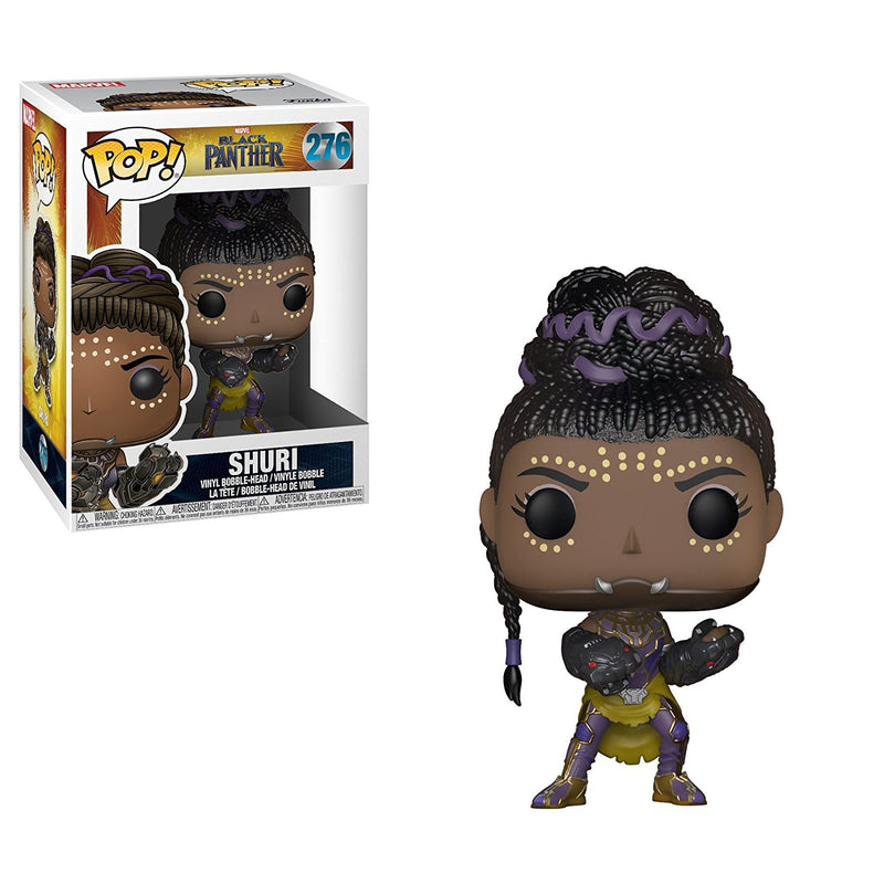 Funko Pop Marvel: Black Panther Shuri Collectible Figure - Kryptonite Character Store