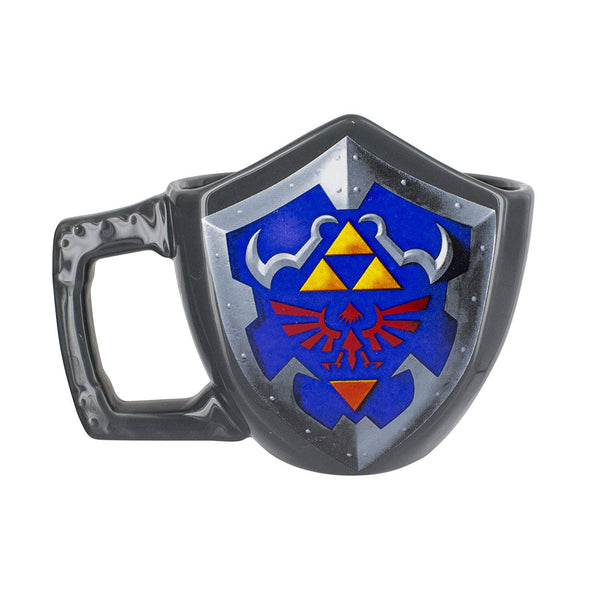 The Legend of Zelda - Hylian Shield Ceramic Coffee Mug - Kryptonite Character Store