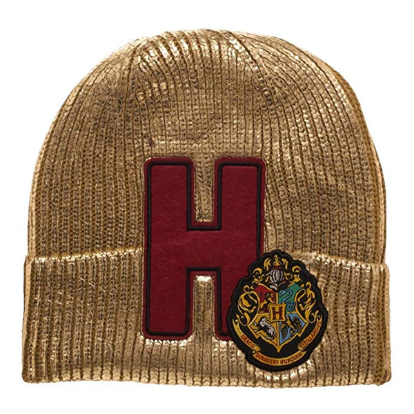 Harry Potter - Hogwarts Gold Beanie Hat - Kryptonite Character Store