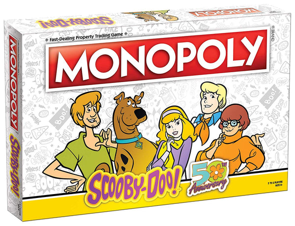 Scooby-Doo! 50th Anniversary Monopoly Board Game - Kryptonite Character Store