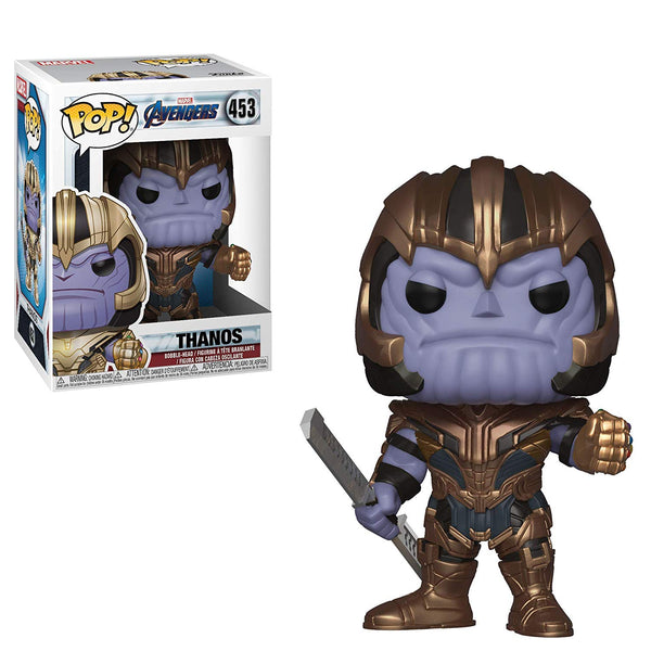 Marvel: Avengers Endgame - Thanos Pop Movies Vinyl Figure - Kryptonite Character Store