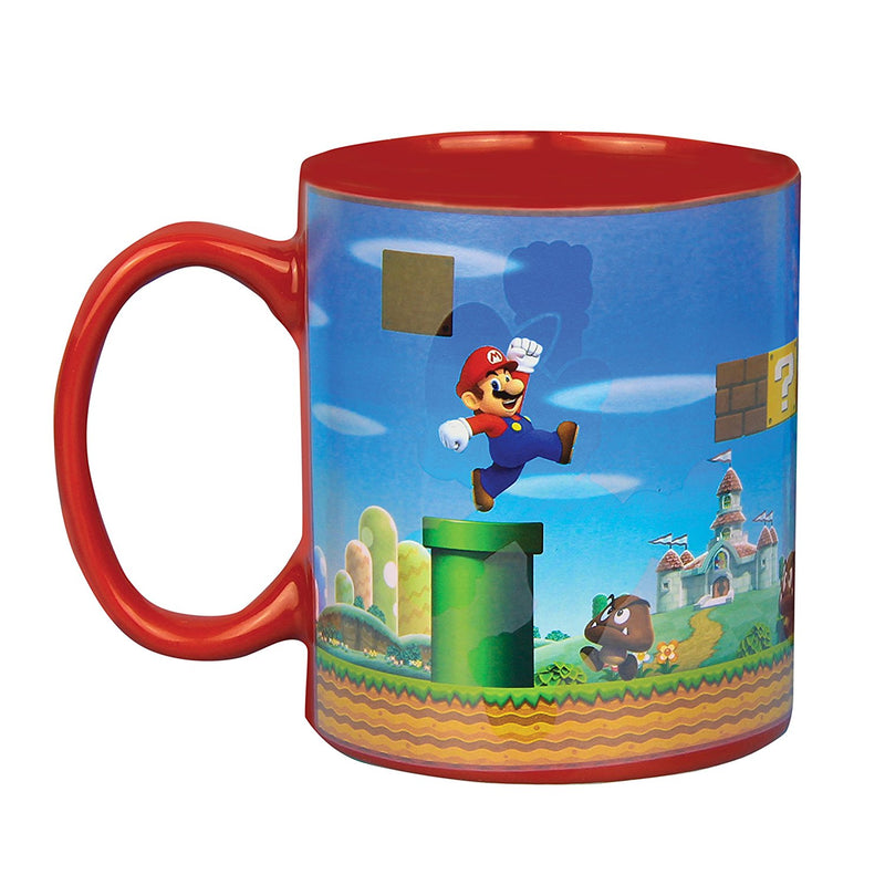 Super Mario Heat Changing Mug - Kryptonite Character Store
