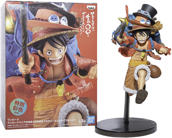 One Piece Three Brothers 2 Monkey D. Luffy Figure