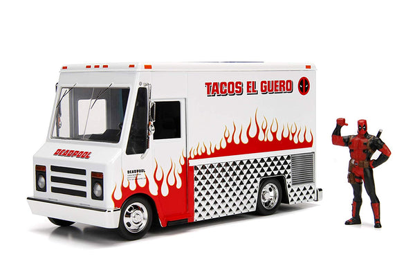 Marvel Deadpool - Taco Truck and Deadpool Figure