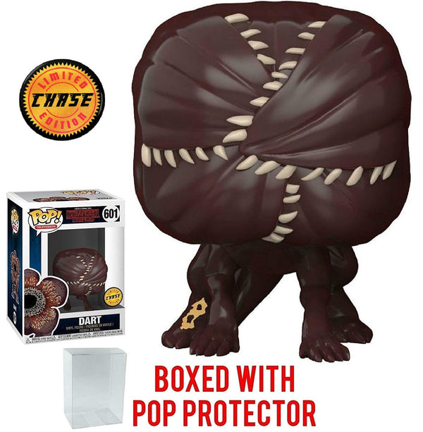 Funko Pop! TV: Stranger Things - Dart Demogorgon CHASE Variant Limited Edition Vinyl Figure (Bundled with Pop Box Protector Case)