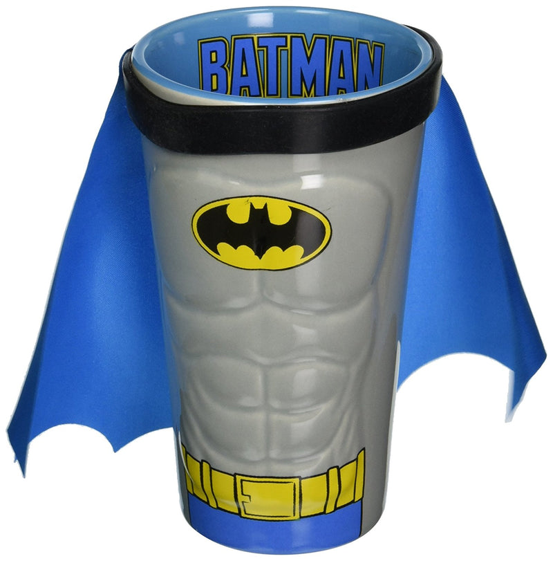 ICUP DC Batman Molded Caped Ceramic Pint Glass