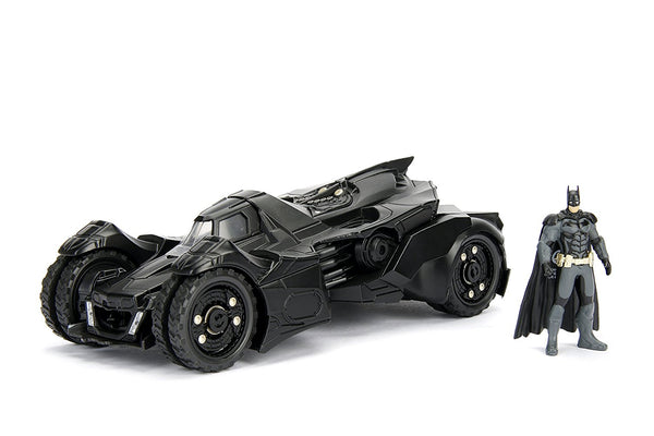 Jada DC Comics Batman Arkham Knight Batmobile & Batman Die-cast vehicle with figure