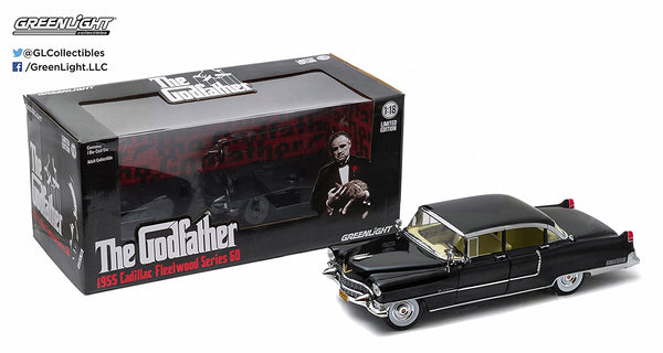 Greenlight Collectibles 1955 The Godfather Cadillac Fleetwood Series 60 Special Die-Cast Vehicle