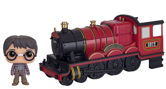 Funko POP Rides: Harry Potter - Hogwarts Express Engine with Harry Potter Action Figure - Kryptonite Character Store