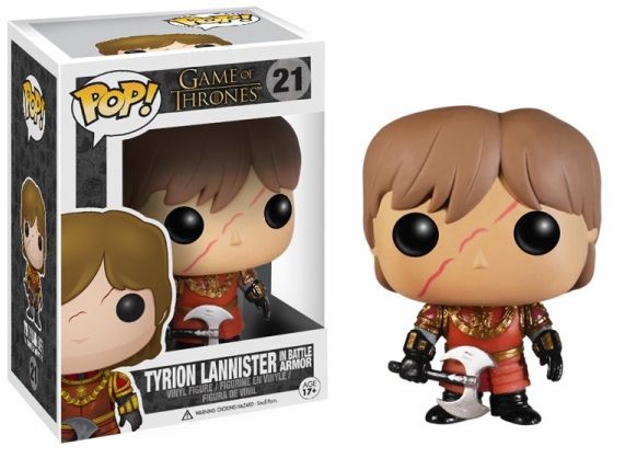 Game of Thrones Tyrion Lannister In Battle Armor - Kryptonite Character Store