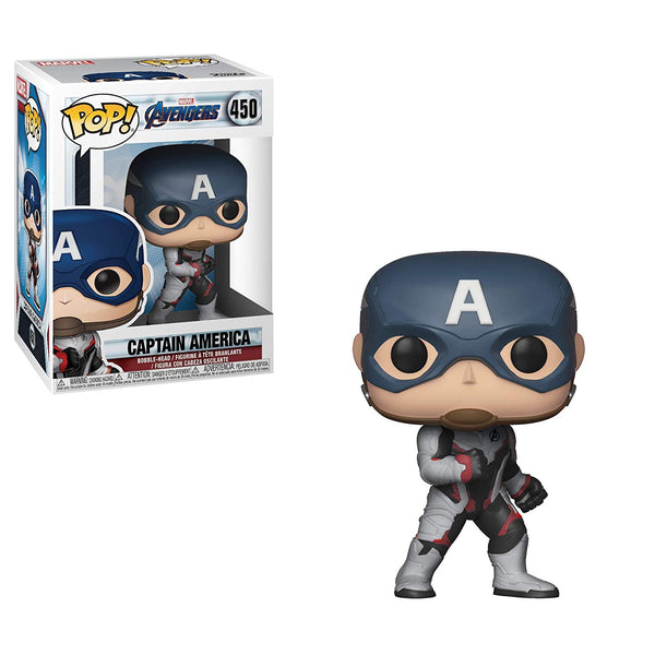 Marvel: Avengers Endgame - Captain America (TS) Pop Movies Vinyl Figure - Kryptonite Character Store