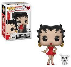 Betty Boop and Pudgy Pop Vinyl Figure - Kryptonite Character Store
