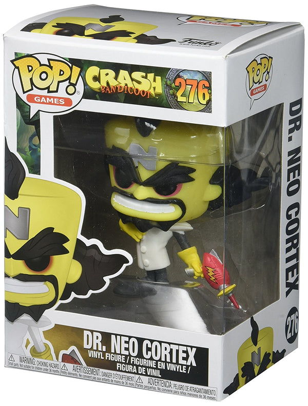 Funko Pop Games: Crash Bandicoot-Neo Cortex Collectible Figure - Kryptonite Character Store