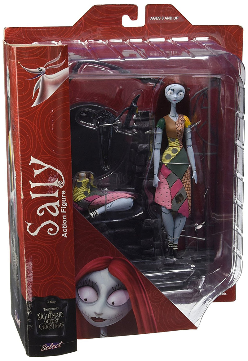 Nightmare Before Christmas - Sally Select Action Figure -Kryptonite Character Store