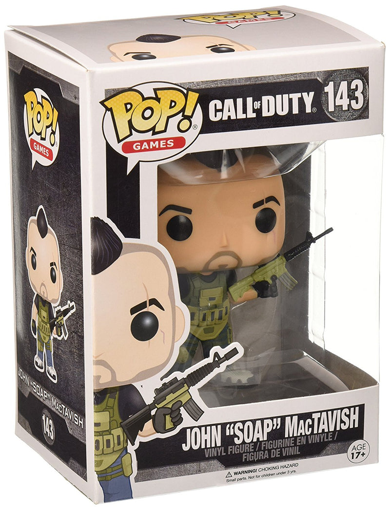 "Funko Call of Duty John ""SOAP"" MacTavish Pop Games Figure - Kryptonite Character Store"