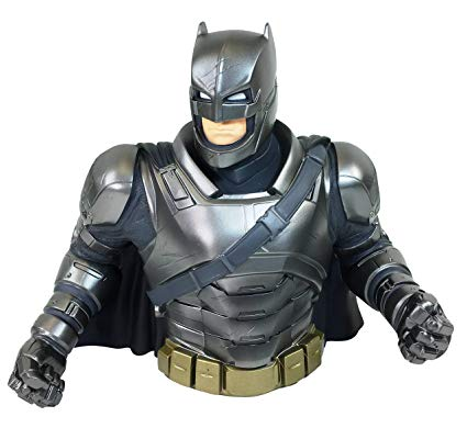 Armored Batman Bust Coin Bank