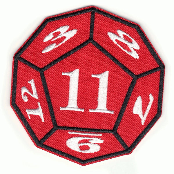 Stranger Things Game Dice Netflix Iron On Patch
