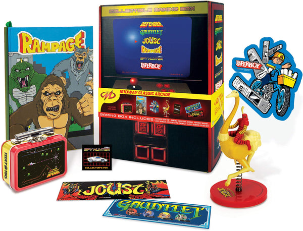 Classic Arcade Collectible Gaming Box - Kryptonite Character Store