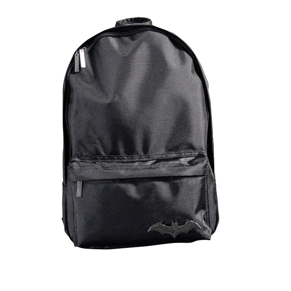 Batman Backpack DC Comics Rucksack Bookbag Black Polyester