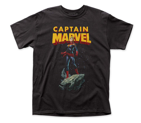 Captain Marvel Asteroid T-Shirt