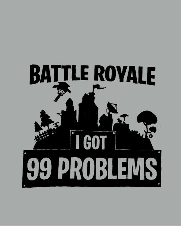 Clearance Fortnite Battle Royale Inspired I Got 99 Problems Tank Top - Kryptonite Character Store