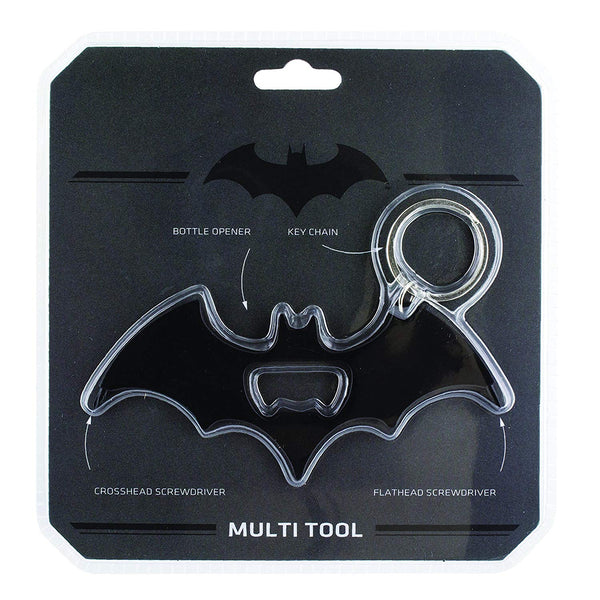 DC Comics Batman Multi Tool Bottle Opener - Kryptonite Character Store