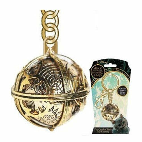 Alice Through The Looking Glass Pewter Key Ring Chronosphere