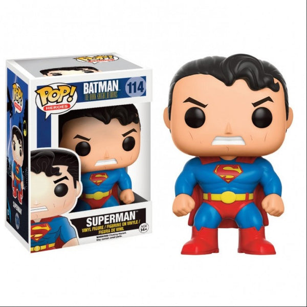 Pop! DC Heroes: The Dark Knight Returns Superman Vinyl Figure- Kryptonite Character Store