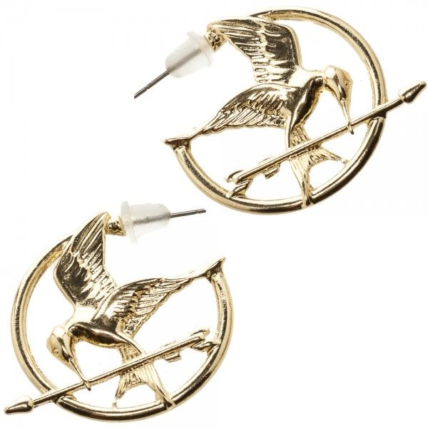 The World of The Hunger Games: Mockingjay Earrings