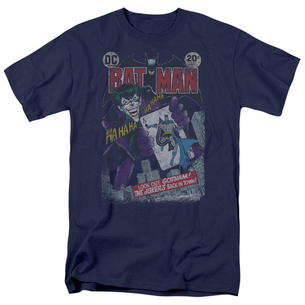 Batman DC Comics Joker Distressed Adult T-Shirt