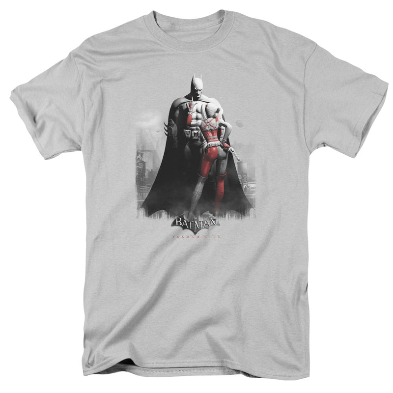 Batman Arkham City DC Comics Harley and Bats Adult T-Shirt Tee